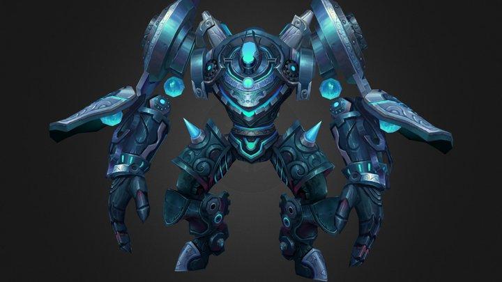 fantasy robot 3D Model
