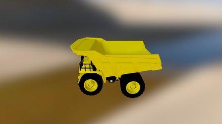 camion minero 2 3D Model