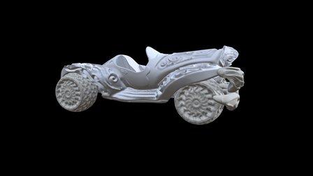 car game 3D Model