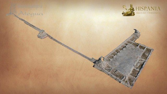 (Yacimiento arqueológico de Ategua, Córdoba) 3D Model
