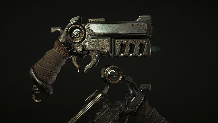 Ectoplasma handgun 3D Model