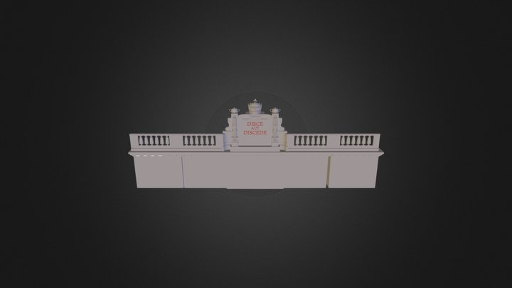 Disce aut discede 3D Model