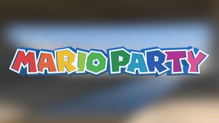 Mario Party Logo 3D Model