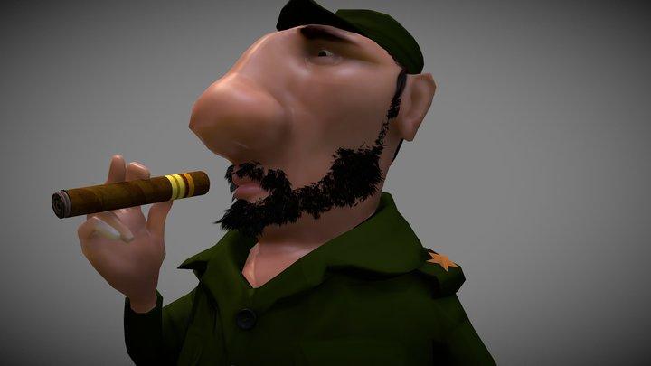 Commander 3D Model