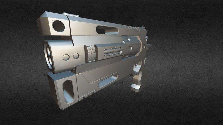 Wingman Revolver 3D Model