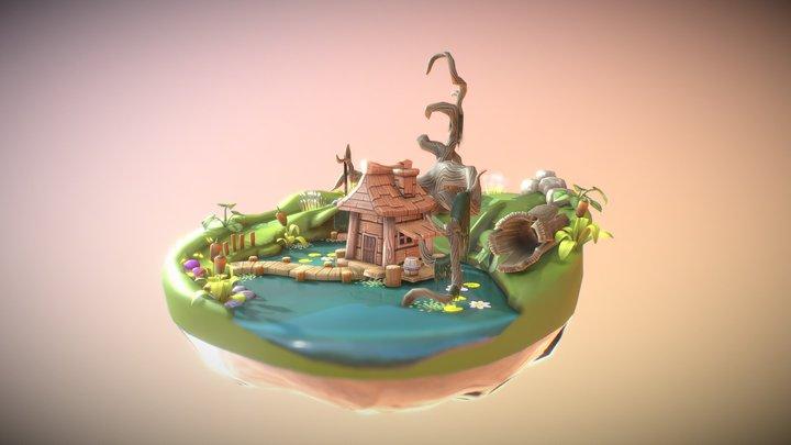 Swamp Haunted 3D Model