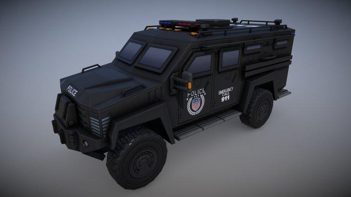 LENCO G2 SWAT (BLACK) 3D Model