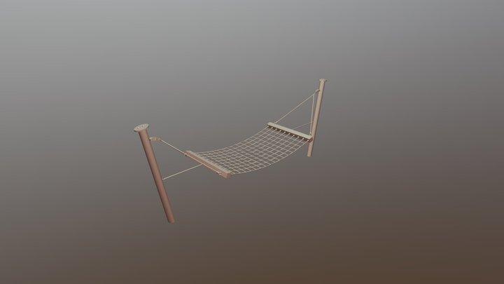 Hängematte 3D Model