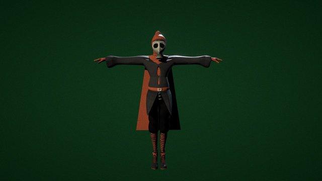 Hero's Journey: She 3D Model