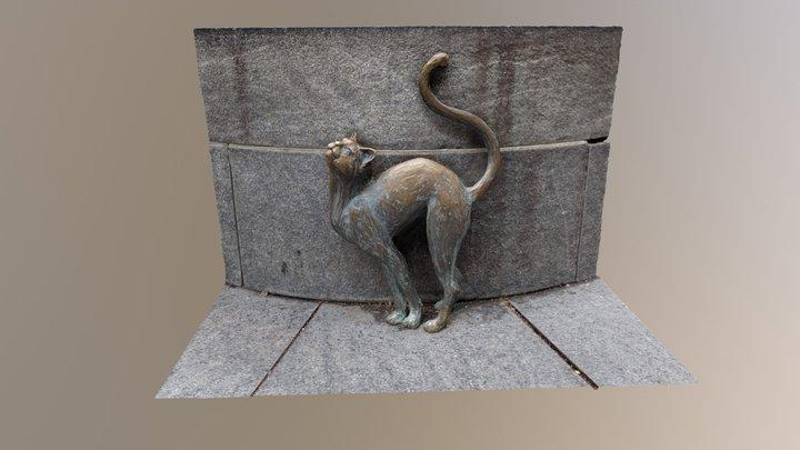 Betsy Ross Cat 3D Model