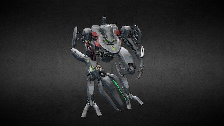 Leviathan. Model concept KimJaeWoo. 3D Model