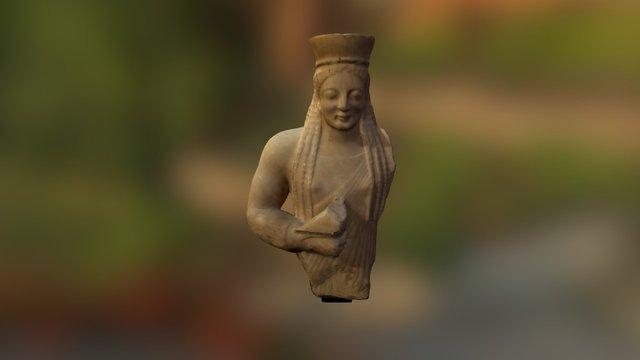 Buste Koré 3D Model