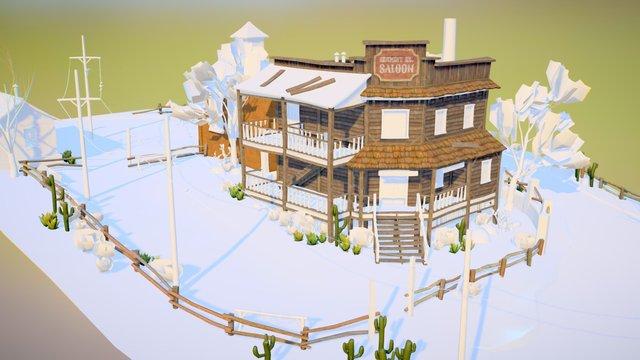 Hangman's Hill Saloon WIP 3D Model