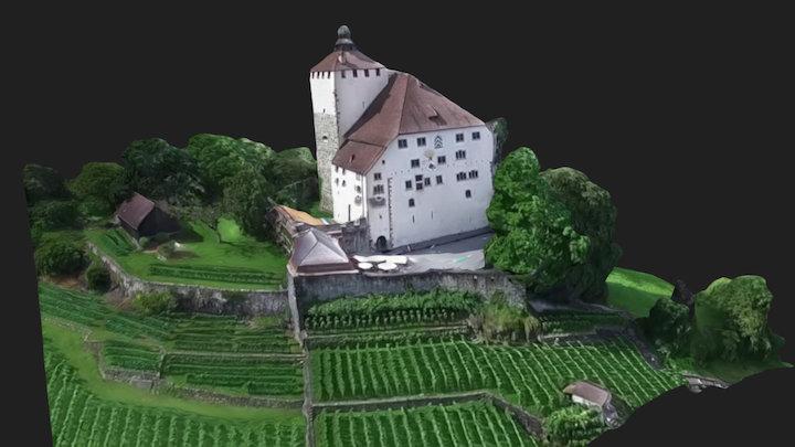 Schloss Werdenberg 3D Model