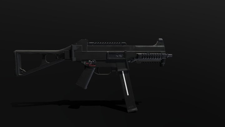 HK UMP45 3D Model