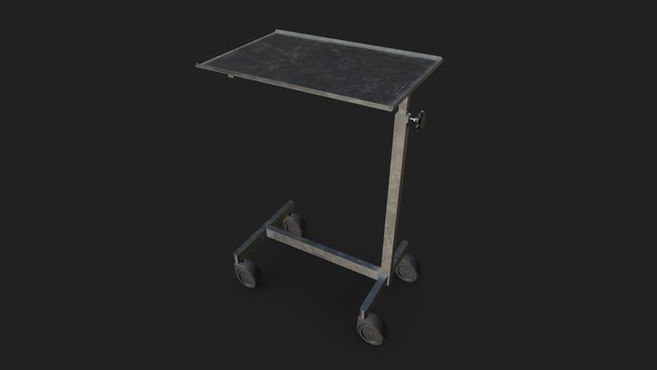 Medical Table1 3D Model