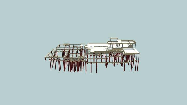 3D Estrutura Fábio Cuberos Atualizado 3D Model