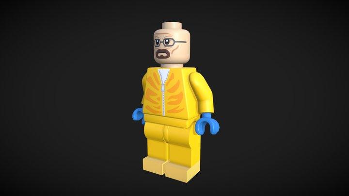Walter White - Lego 3D Model