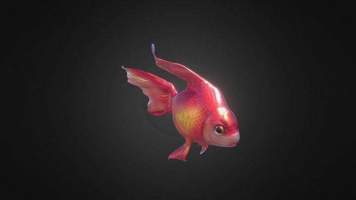 Goldenfish 3D Model
