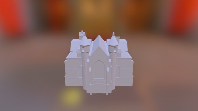 basic church  model Nº1 3D Model
