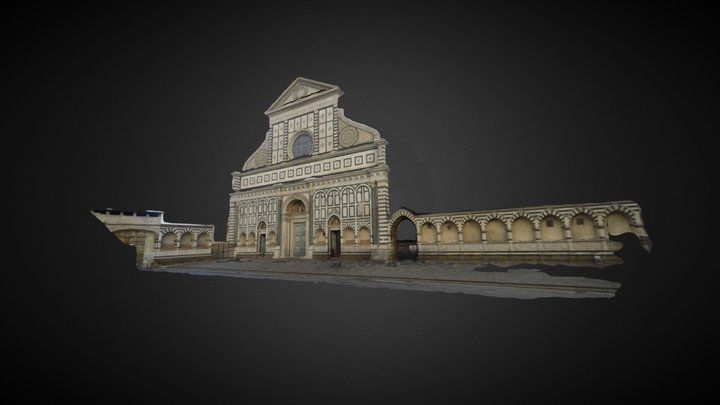 Santa Maria Novella - processed by Pix4Dmapper 3D Model