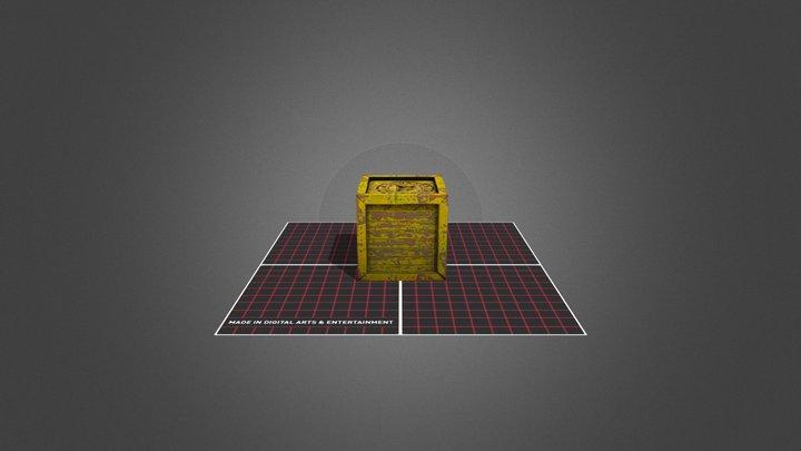 Prop_Crate test 3D Model