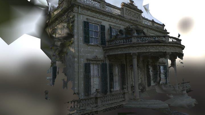 Space Castle Mesh (Montgomery Place Failure) 3D Model
