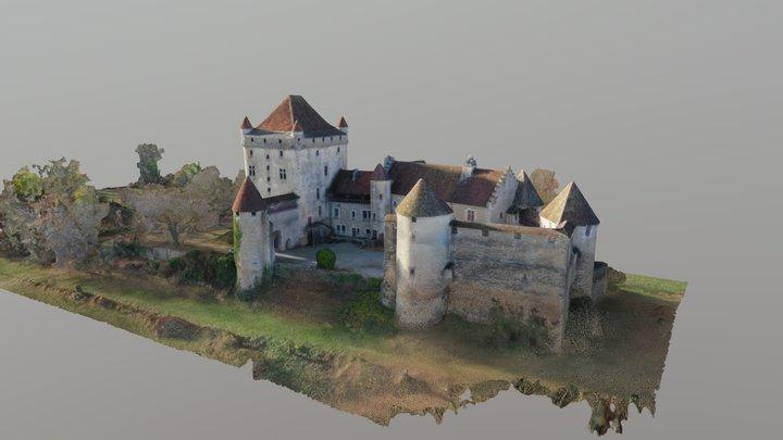 Château du Pin 3D Model
