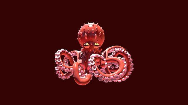 Giant Octopus 3D Model