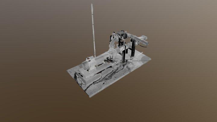 Pompe Industrielle 3D Model
