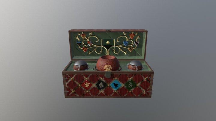Quidditch Chest 3D Model