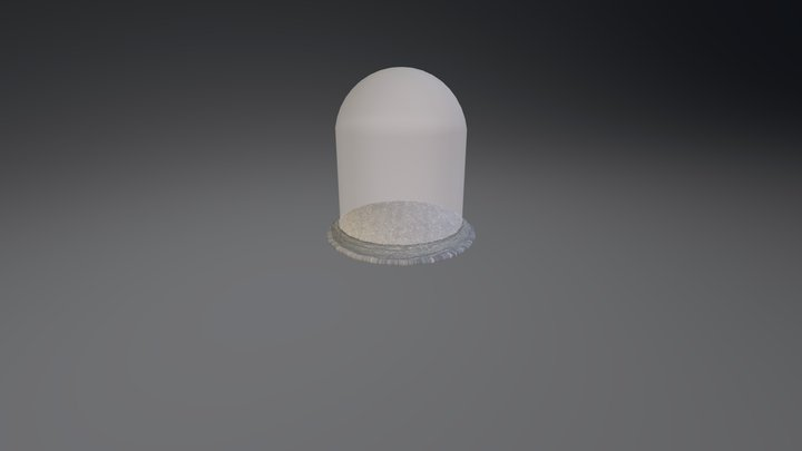 Glass Dome 3D Model
