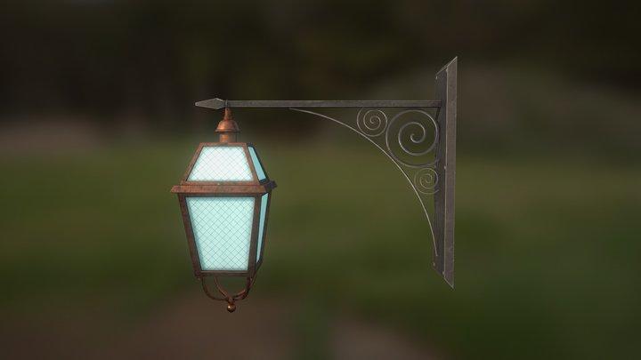 old street lantern 3D Model