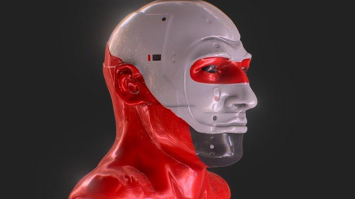 Miguel Angel Silvestre - GITS inspired 3D Model
