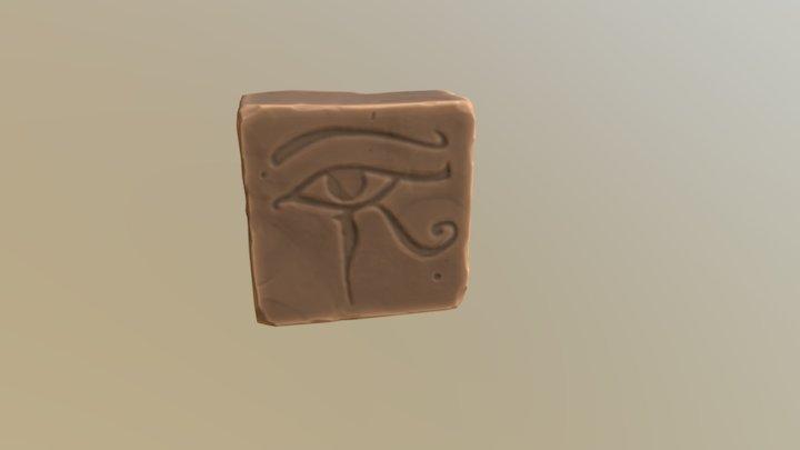 Egypt Stone Block _ 3Daily 2017 3D Model