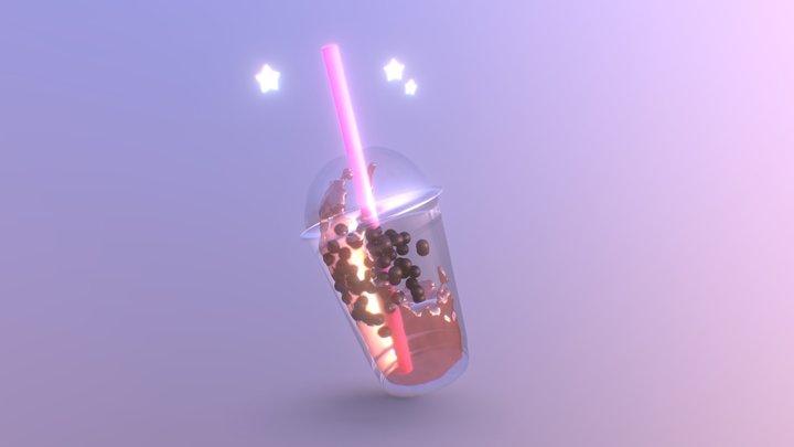 Boba Tea 3D Model