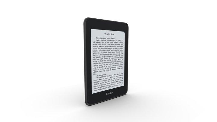 Kindle Paperwhite 3D Model