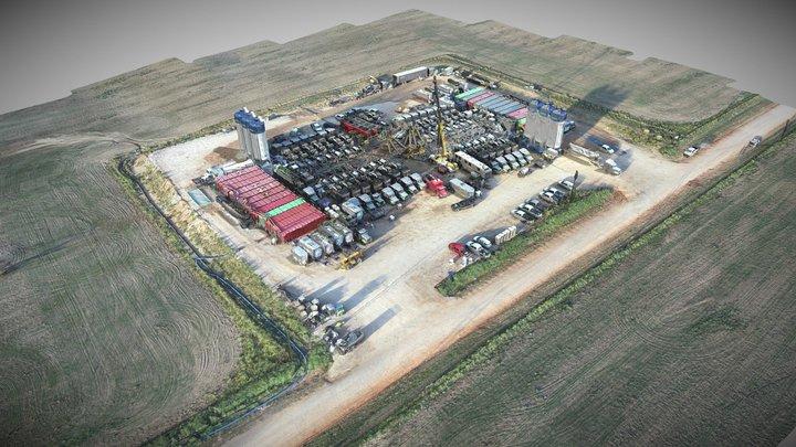 092619 - Texas Pride Fuels - Frac Site 3D Model