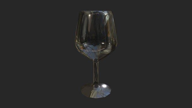 Wine Cup 3D Model