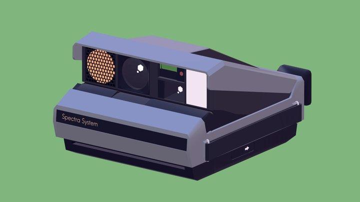 Polaroid Spectra 3D Model