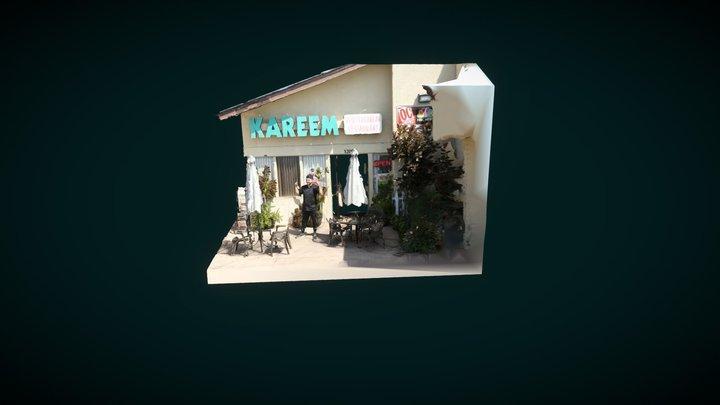 Kareem's Restaurant 3D Model