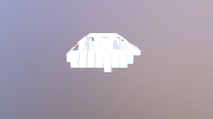Loft Layout 3D Model