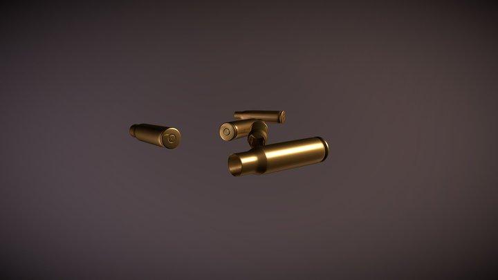 Bullet shells 3D Model