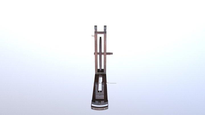 Gifted Charkha 3D Model