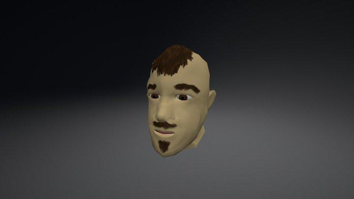 Chuck Head Model 3D Model