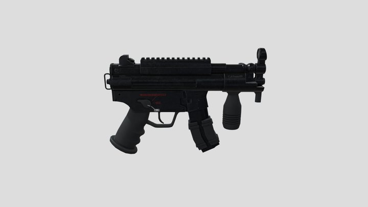 Heckler & Koch MP5K 3D Model