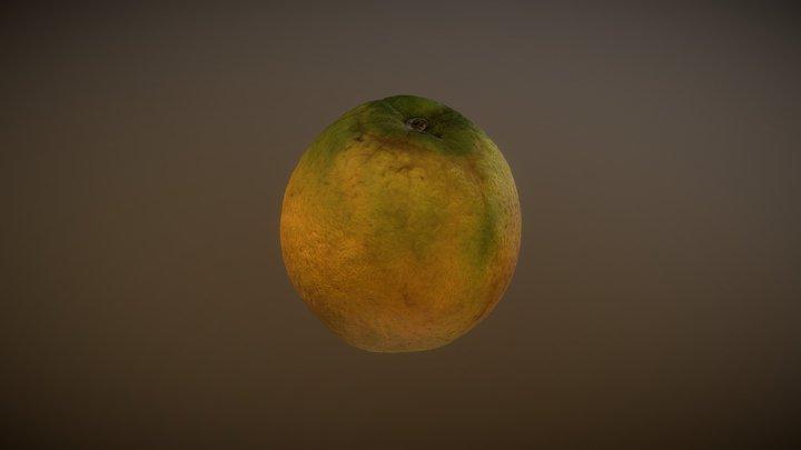 Naranja_LowPoli 3D Model