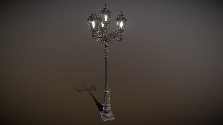4 Street-light 3D Model