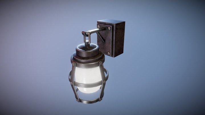 Metal Wall Lamp 3D Model