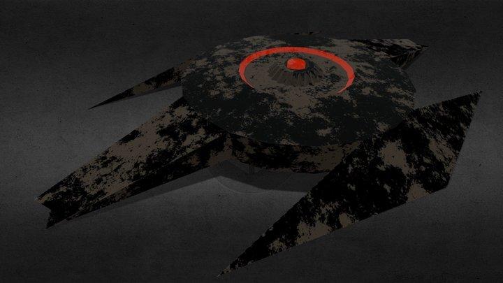 Landmine 3D Model